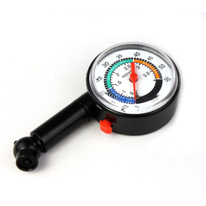 Puscard Hot sale Auto Motor Car Bike Tire Air Pressure Gauge Dial Meter Vehicle Tester FreeShipping & Wholesales(China (Mainland))