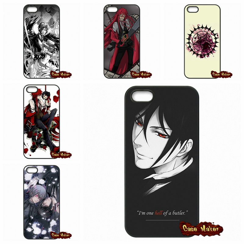 For Sony Xperia Z Z1 Z2 Z3 Z3 Z4 Z5 Compact M2 M4 M5 C C3 C4 C5 T2 T3 E4 Anime Black Butler Kuroshitsuji Cases Cover(China (Mainland))
