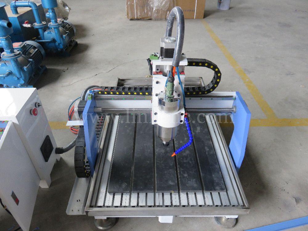 Most popular LXS0609 stone cnc router 0609 1212 with water tank/cnc router aluminum t-slot table(China (Mainland))