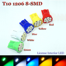Buy 20x T10 Led 3020/ 1206 SMD 8SMD 8 led Bright LED LIGHT BULBS 194 2825 921 168 175 W5W Super bright Auto led Car light Cool White for $2.99 in AliExpress store