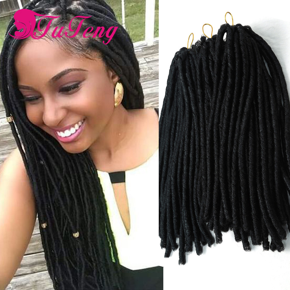 Faux Locs dreadlock synthetic braiding hair Crochet Braids dreadlocks ...