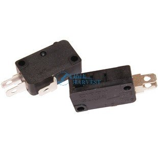 100 pcs of Official ZIPPY Microswitch For Push Button 3 terminals microswitch for button Arcade Game Machine Cabinet accessories(China (Mainland))