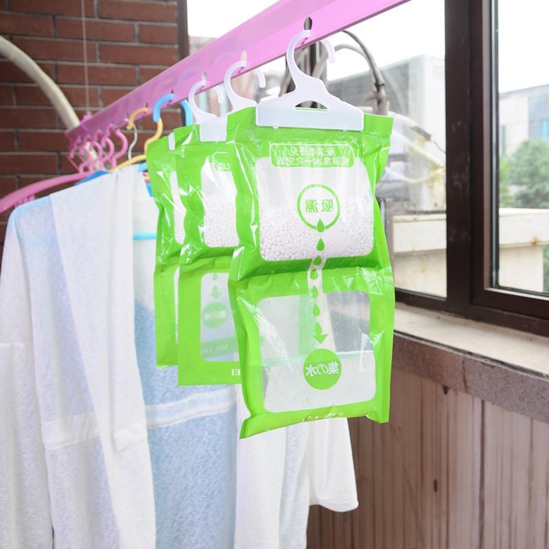 Hanging type wardrobe moisture-proof desiccant/Wardrobe hanging type moisture absorption bag/Anti mildew desiccant/Single bag sa(China (Mainland))