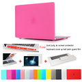 New Matte Laptop Crystal Case Cover For Macbook Air 13 A1466 Air 11 A1370 Pro 13