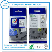 Compatible 18mm TZe tape strong adhesive tze s141 tz s141 tz-s141 TZ extra strong adhesive tape cartridge
