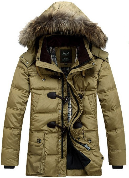 2013 Winter New plus big size Men's clothing Outerwear medium-long thickening jacket coat size; S---3XL - T Y HUI's store