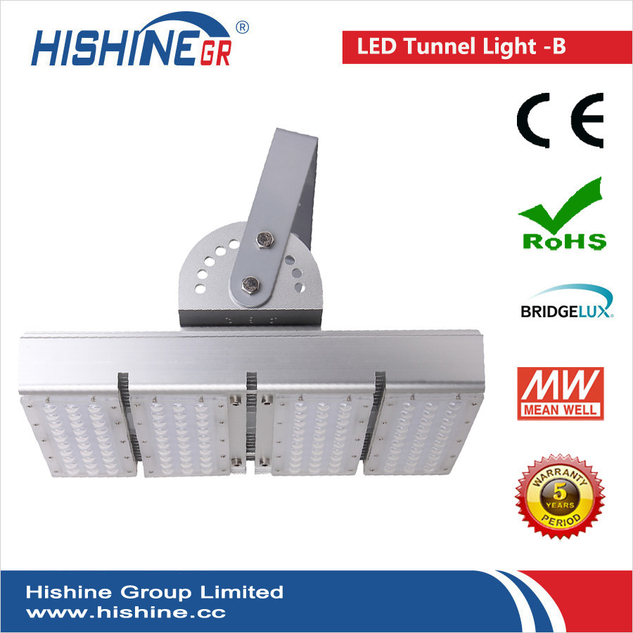 (8pieces/lot)Led Tunnel Light 200W Meanwell Driver AC90-295V LED Sport Field Lighting IP65 CE ROHS With 3 Years Warranty(China (Mainland))