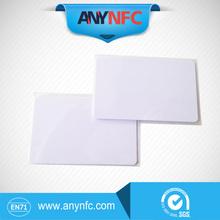 50pcs/lot FM11RF08 Blank NFC thin pvc card