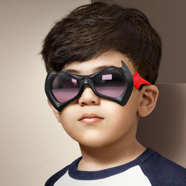 Прохладно солнцезащитные очки детей для мальчика красочные солнцезащитные очки дети высокое качество градиент объектива оттенки óculos девочка UV400 защиты