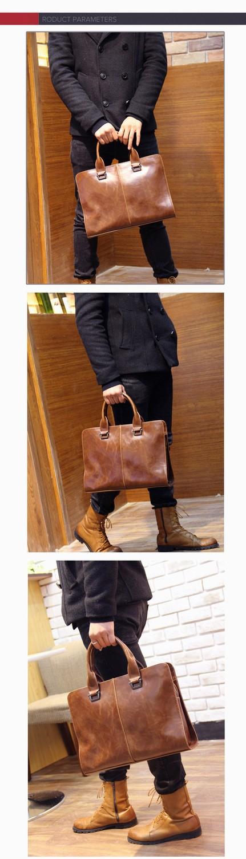 New Men's Handbag Korean Version Of Male Cross Shoulder Messenger