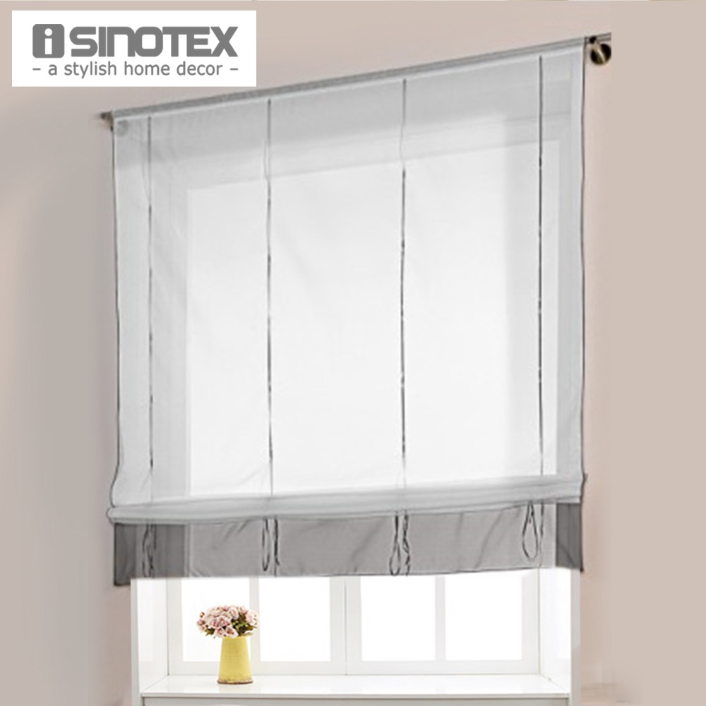 height adjustable roman curtain hot ready made curtains