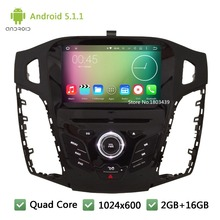 Quad Core DAB FM BT USB RDS Android 5 1 1 8 HD 1024 600 WIFI