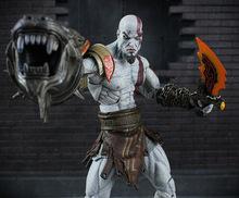 18cm PVC Figma Action Figure Kratos God of War 3 Toy