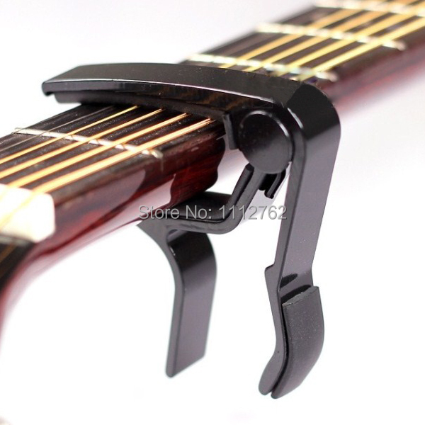 New Hot 2014 Classic Folk Acoustic Electric Tune Quick Change Trigger Guitar Capo Key Clamp Free shipping EaMZu(China (Mainland))