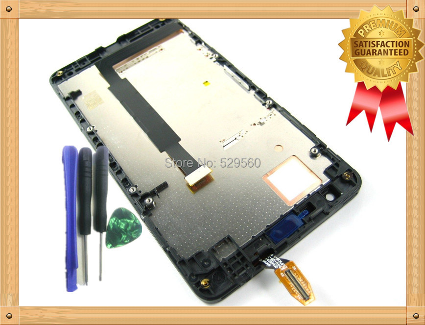 For Nokia Lumia 625 LCD Display+Touch Screen Digitizer Assembly With Frame +Tools
