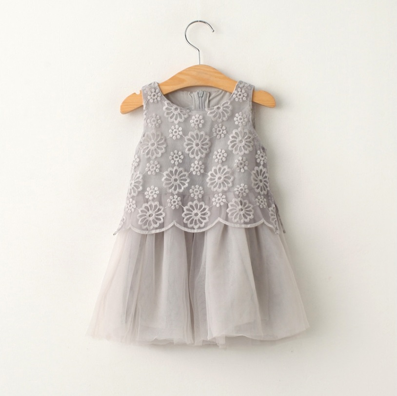 Hug Me Baby Girls Lace Tutu Dresses 2016 Summer Children Sleeveless for Kids Clothing New Party Lace Cake Vest Dress BB-427<br><br>Aliexpress