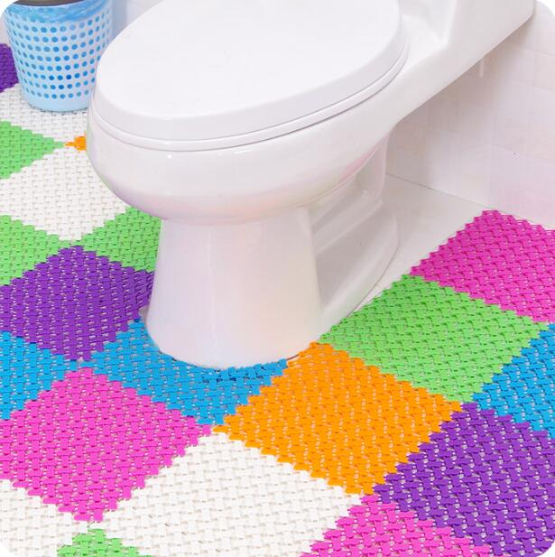 cut to fit bathroom rugs,