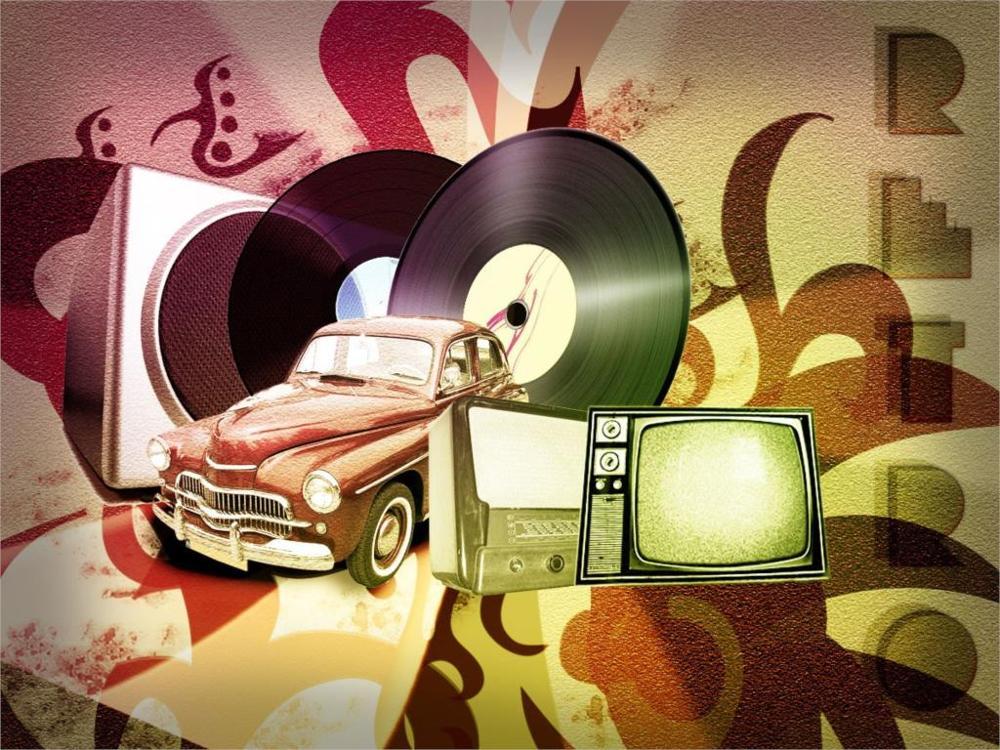 sports carold cars vintage pixel art music vinyl television sets 4' Size Home Decoration Canvas Poster Print(China (Mainland))