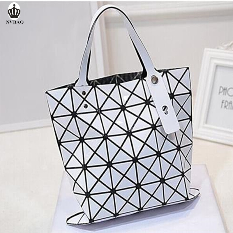 Check Pattern Trendy Ladies Handbags PU Leather Girls Designer Bags Polyester Fabric Discount Leather Handbags for 40 online(China (Mainland))