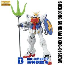 Genuine BANDAI MODEL 1/100 SCALE Gundam models #167089 MG SHENLONG GUNDAM XXXG-01S(EW) plastic model kit