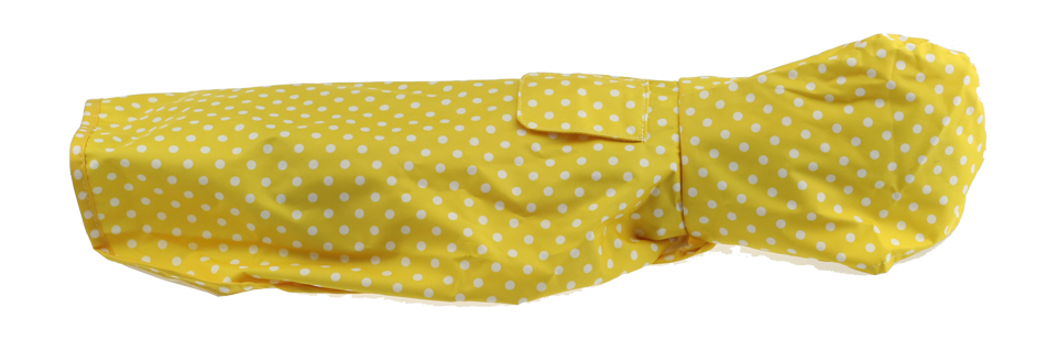 New Pet Dog Cat Raincoat beautiful design with dot red yellow and green color Waterproof Raincoat(China (Mainland))