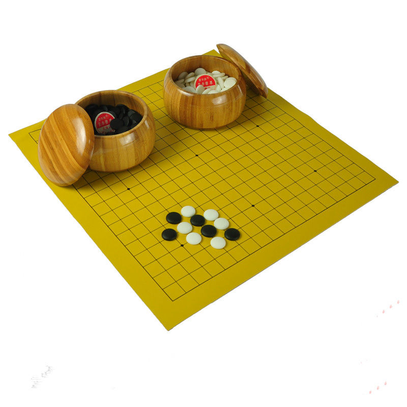 go game new yunzi chess pieces leather board wood box