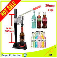Free Shipping Beer Bottle Capping Machine Manual beer Lid Sealing Capper beer capper soft drink capping machine soda water caper(China (Mainland))