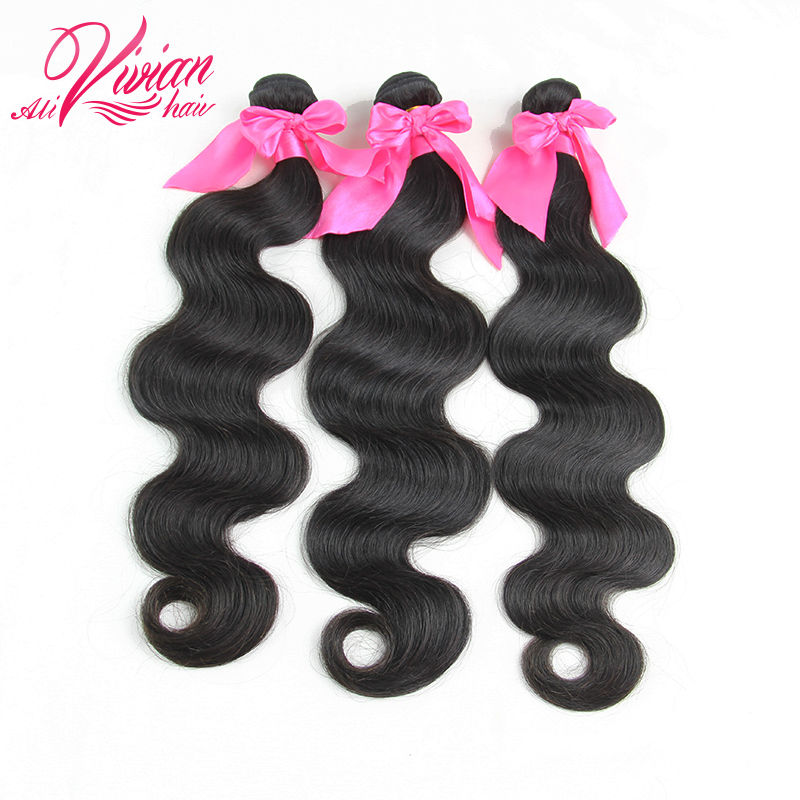 6A Unprocessed Brazilian Virgin Hair Body Wave 3 Bundles Human Hair Weave Brazilian Hair Weave Bundles Brazilian Body Wave(China (Mainland))