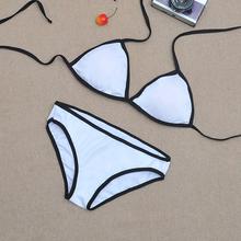 WHATWEARS 2015 Fashion Swimming Suit Women Triangl Bikini Brazilian Push Up Bikini Swimwear Bathing Suits S