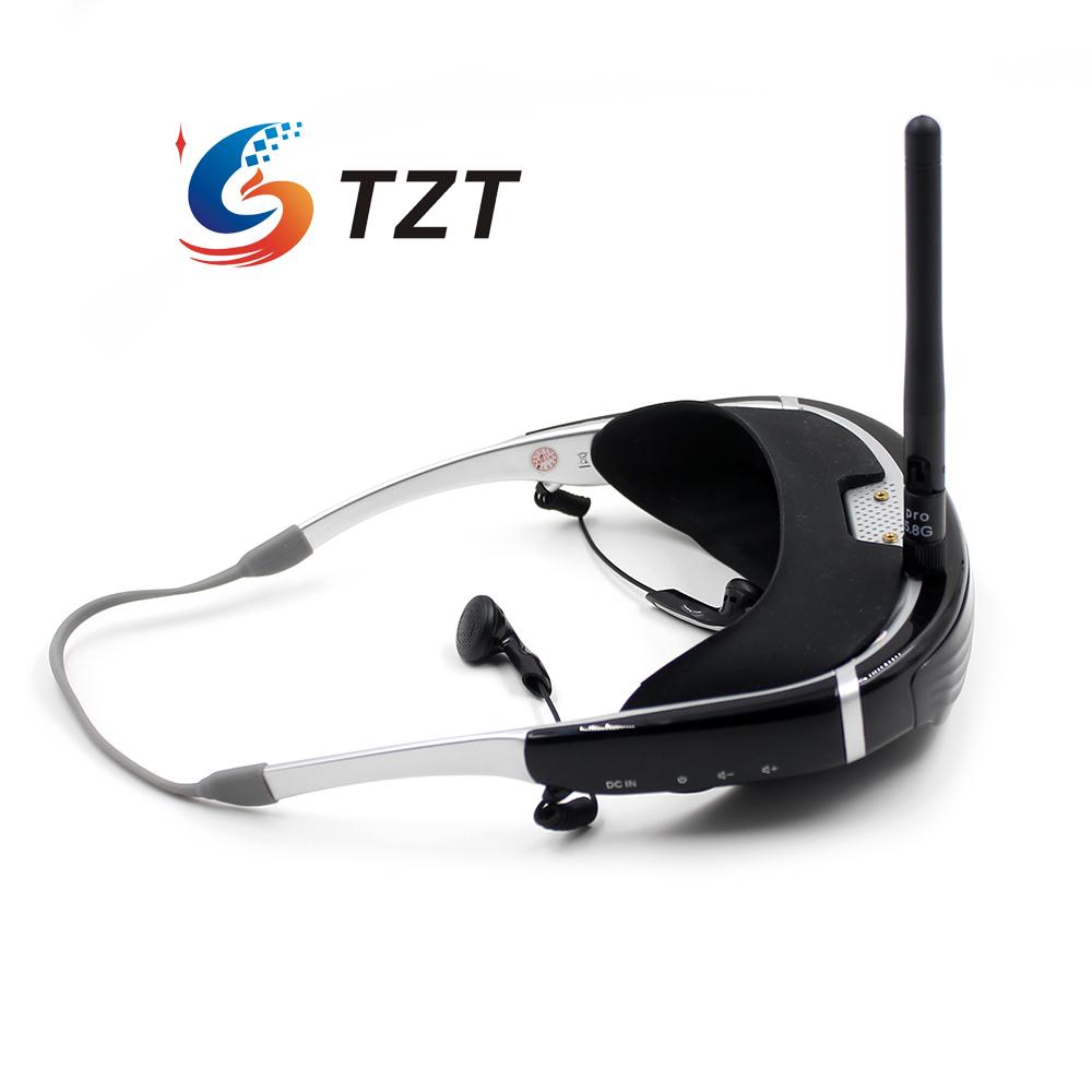 FPV Goggles 62 inch Wireless 5.8G 40CH LCD 3D HD Video Glasses Vision 720S for QVA250 280 Quadcopter RC Drone