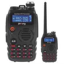 2PCS/LOT Portable UV-A52 VHF / UHF136-174 / 400-520MHzTransceiver Dual BandTwoWay Radio Walkie Talkie With LCD Display + 128Ch