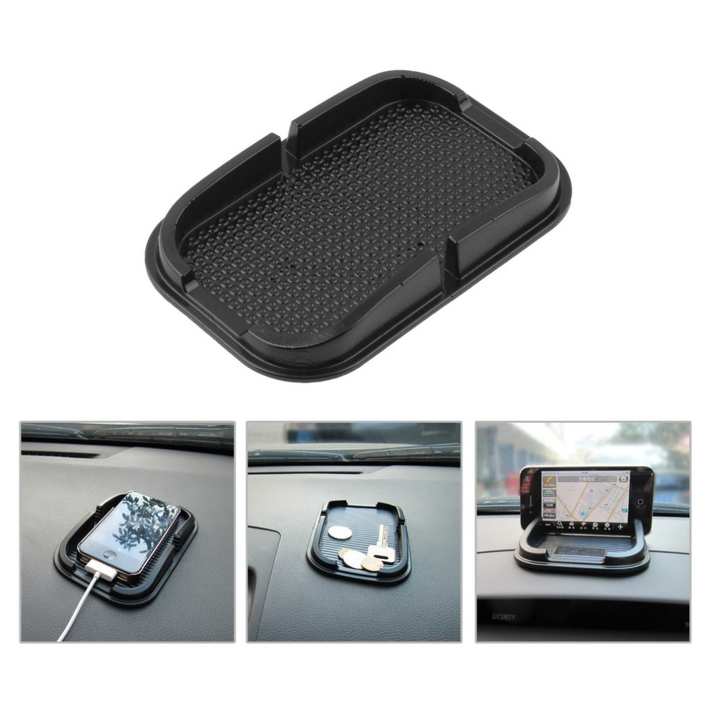 Multi-functional car Anti Slip pad Rubber Mobile Sticky stick Dashboard Phone Shelf Antislip Mat For GPS MP3 car DVR non slip(China (Mainland))