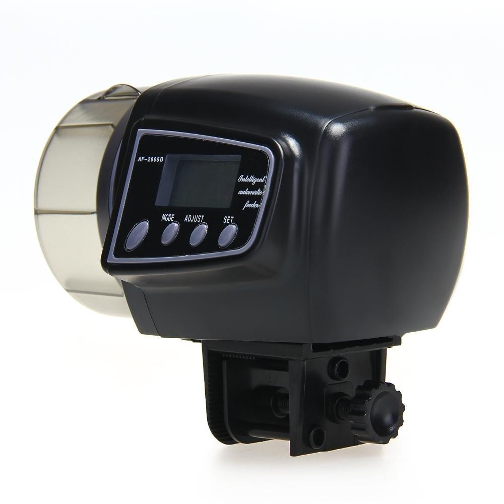 Automatic Manual Auto Feeding Convenient Aquarium Fish Tank Food Feeder Timer LCD Display  (China (Mainland))