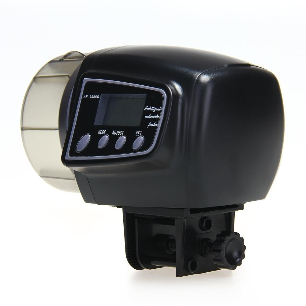 Automatic Manual Auto Feeding Convenient Aquarium Fish Tank Food Feeder Timer LCD Display(China (Mainland))