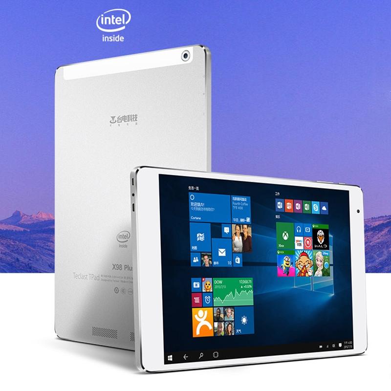 Original Teclast X98 Pro WiFi 9.7 inch Intel Z8500 Quad Core 4GB + 64GB Windows 10 Tablet PC, Support GPS, HDMI, OTG, WiDi<br><br>Aliexpress