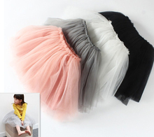 2015 Baby Girl Net Veil Skirt Kids Cute Princess Clothes Christmas Gift Pettiskirts Toddler Ball Gown Party Kawaii TUTU Skirts(China (Mainland))