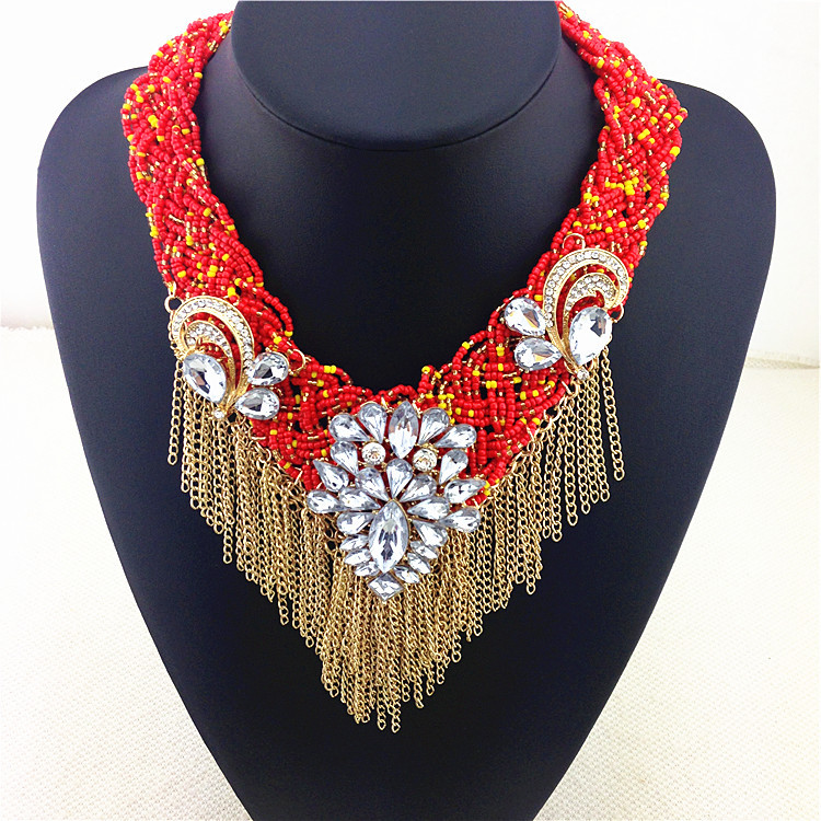 Famous Latest Design Of Bead Necklace With Sand Beads Pictures ...