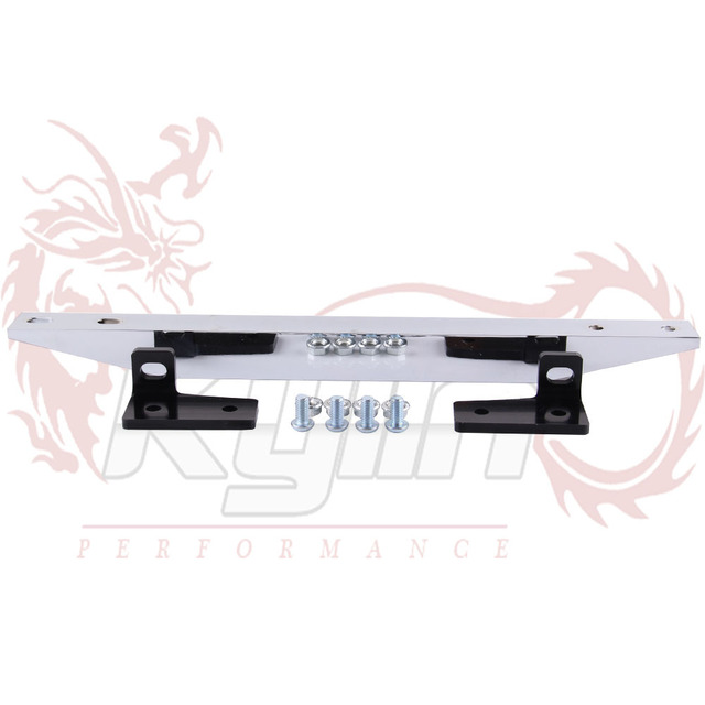 KYLIN STORE - NEW CHROME SUBFRAME LOWER TIE BAR REAR FOR RSX 02-06 DC5 TYPE-S CIVIC 01-05 EP3 EM2 ES1 WITH LOGO