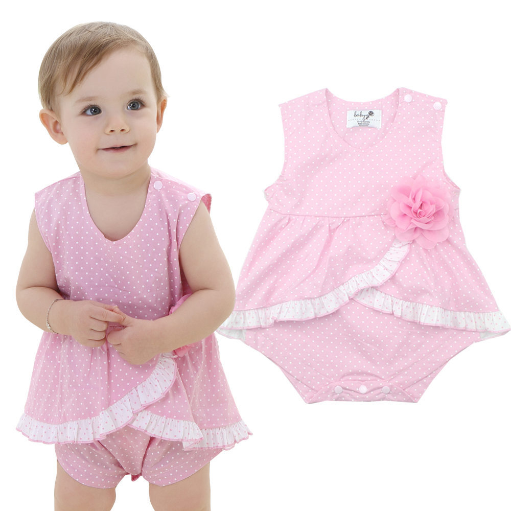 Baby Rompers Girl Clothing Infant Jumpsuit Baby Clothes Girls Fashion Wear Newborn Baby Clothing Flower Cotton Roupa Infantil(China (Mainland))