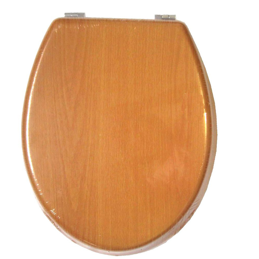 Wood Toilet Lid : Toilet lid cover soft closing high quality mdf