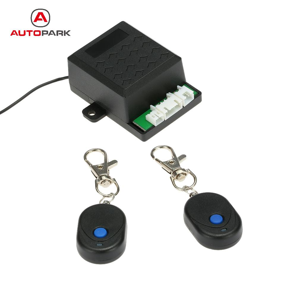 1-Way Car Immobilizer Anti Theft Security System Auto Keyless Alarm Protection with 2 Remote Controller for BMW E46 Ford Focus2(China (Mainland))