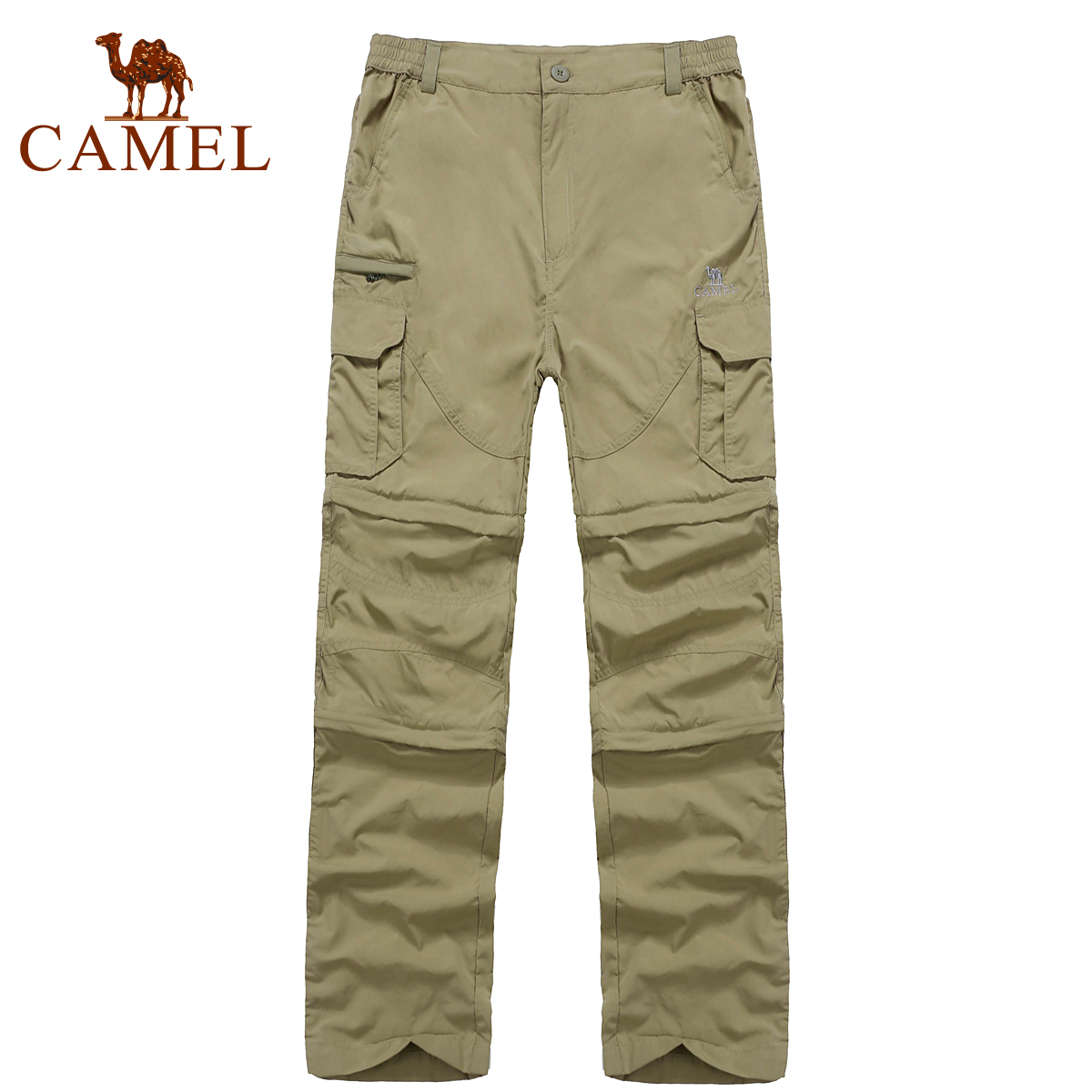 Camel outdoor Men quick-drying pants the disassemblability male quick dry pants a4s256011<br>