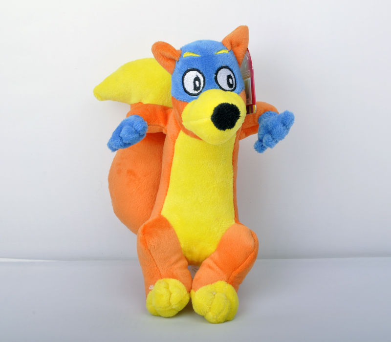 "Гаджет  8"" Tall Dora The Explorer Swiper Stuffed Doll Fox Toy plush doll toy gift None Игрушки и Хобби"