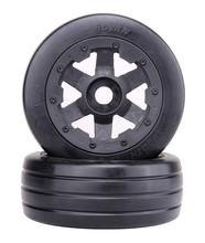 Buy 1/5 rc car, Front Slicks wheels set (x 2pcs) fit HPI Rovan baja 5b King motor truck for $57.80 in AliExpress store