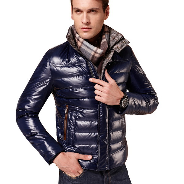 2015 Men Winter Coats Warm Slim Fit Jacket Large Size L-3XL Fashion Man Parkas Solid Color Thick Outerwear