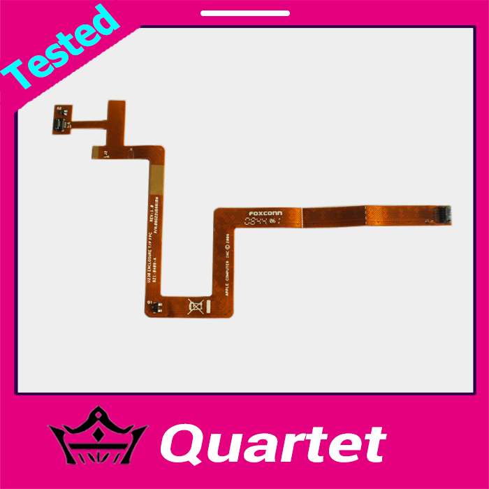 """Original Trackpad Top Case Keyboard Ribbon Flex Cable For Macbook 13"""" A1181 P/N:821-0409-A 2006(China (Mainland))"""