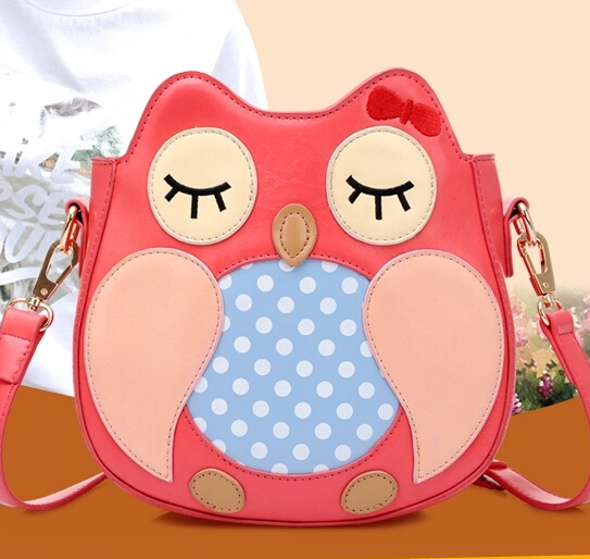 Women's handbag 2014 autumn winter cross-body small bags girls cartoon owl messenger bag