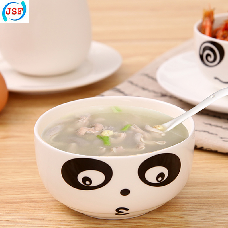 High Quality Ceramic Bowls Creative Cute Panda Bowl of Food, JSF-Bowls-002(China (Mainland))