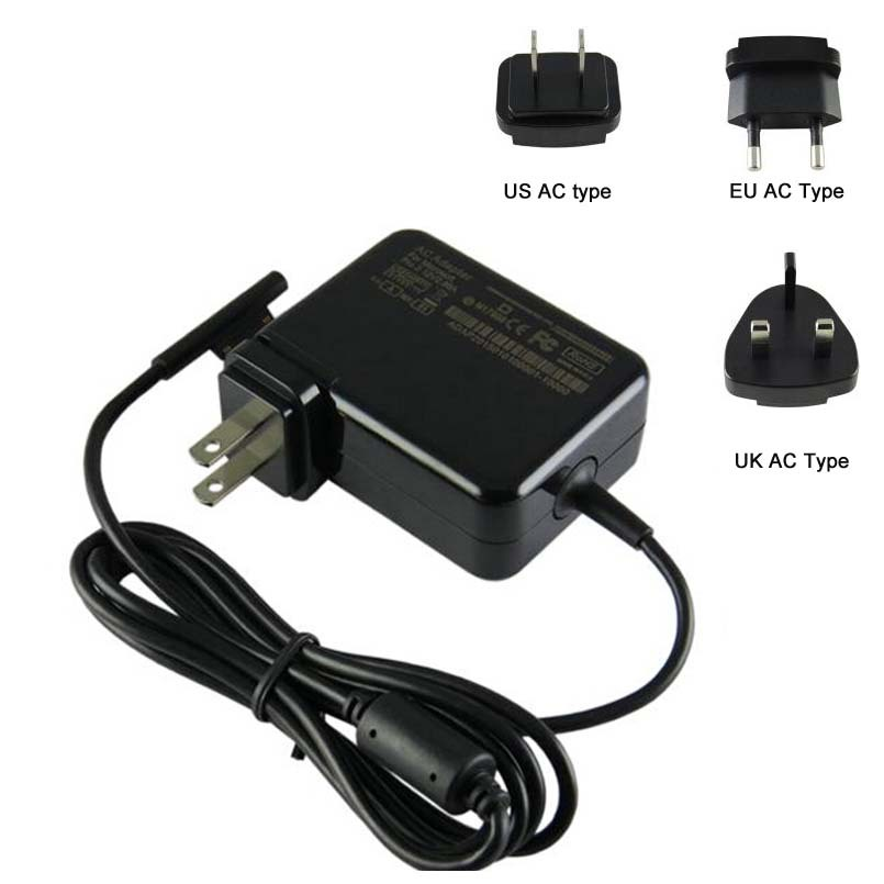 12V 2.85A AC wall charger adapter power supply for Microsoft Windows Surface pro 3 4 tablet(China (Mainland))