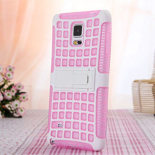 new cute lovely case for samsung galaxy note4 cases,tpu silicon shell for note 4 n910 back soft cover with lazy stand holder(China (Mainland))